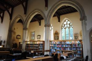 Bibliothek des St. Edmund Hall Colleges