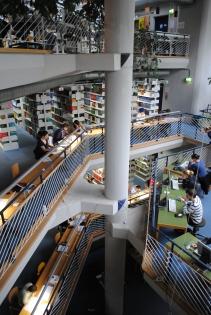 Uni Bibliothek Konstanz, Gebäude N (November 2011)