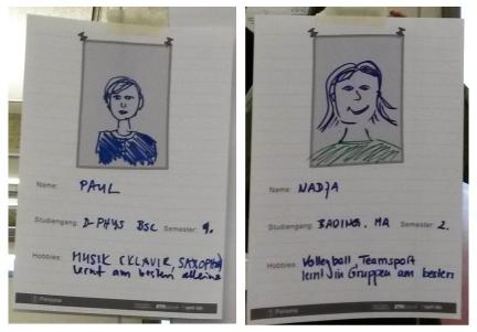 HWO Personas Paul und Nadja