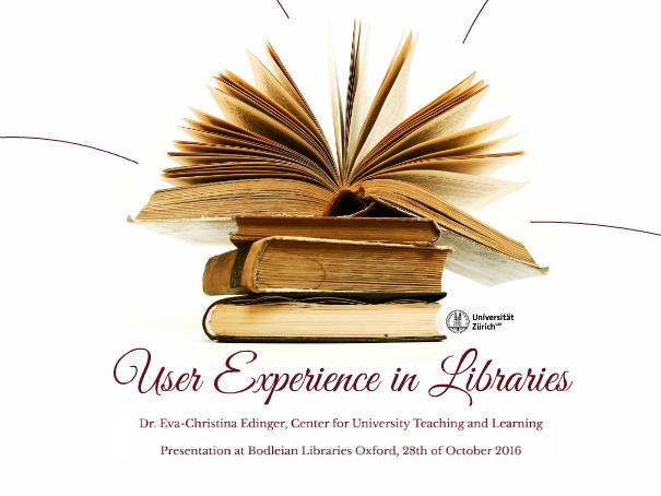 Prezi: User Experience in Libraries